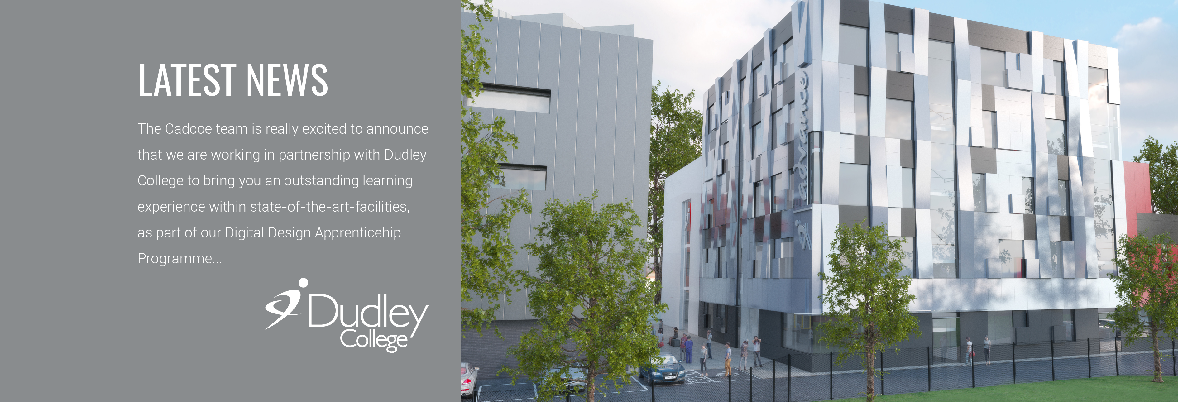 Cadcoe Announces New Partnership with Dudley College